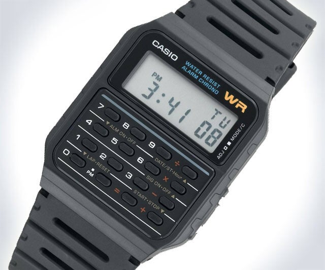 Image of Casio Digital Calculator Watch