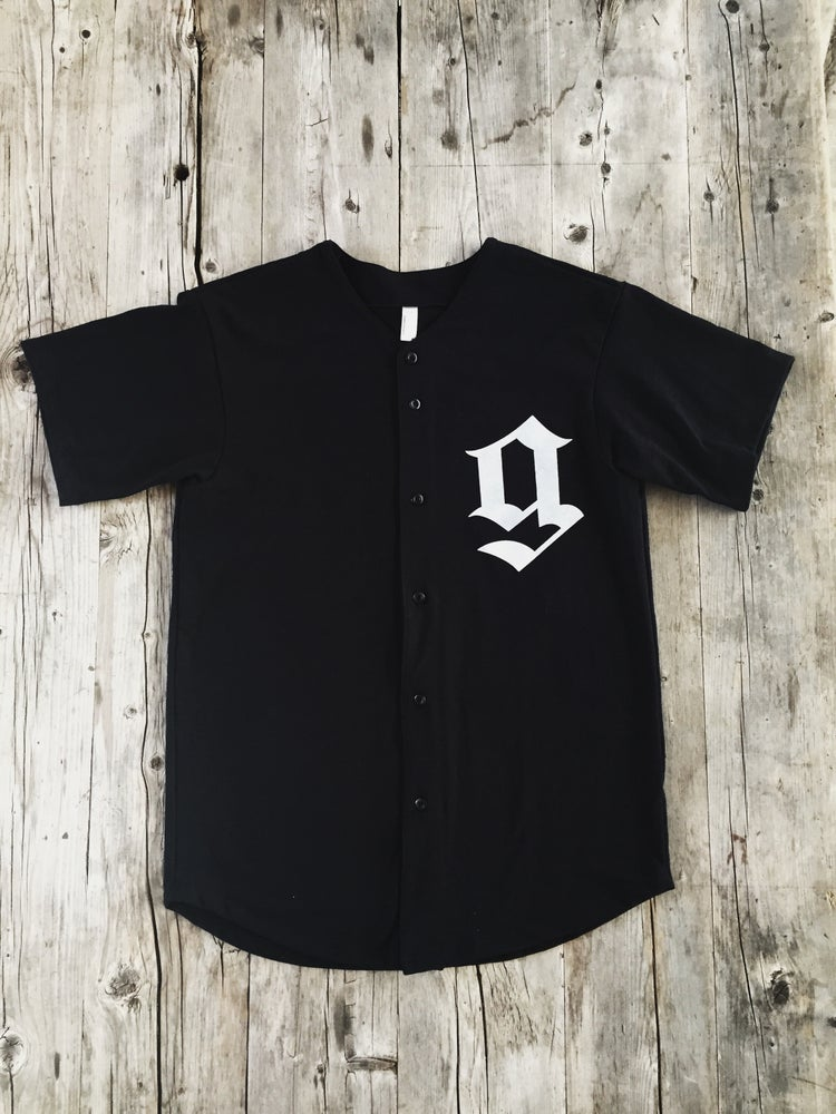 Image of Gusto 77 Thick Knit Baseball Jersey
