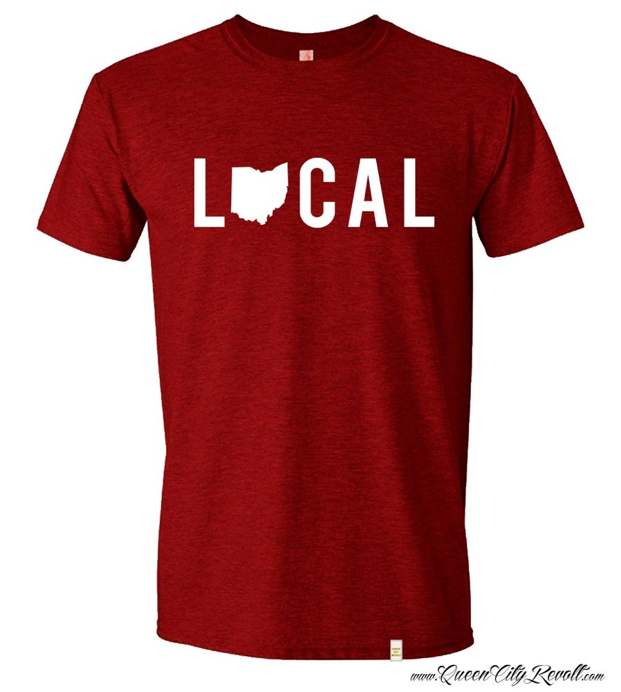 Image of Ohio Local Tshirt, Red