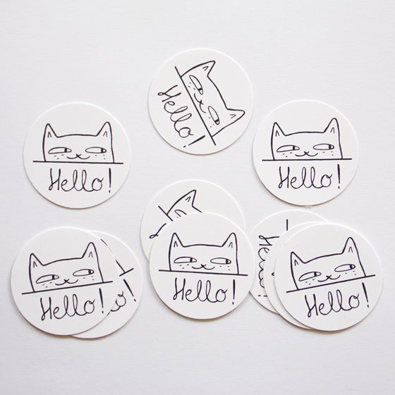 "Image of Stickers ""Hello !"""