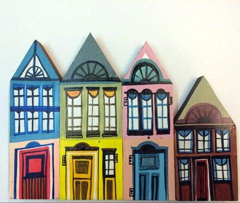 Image of HOUSES, light