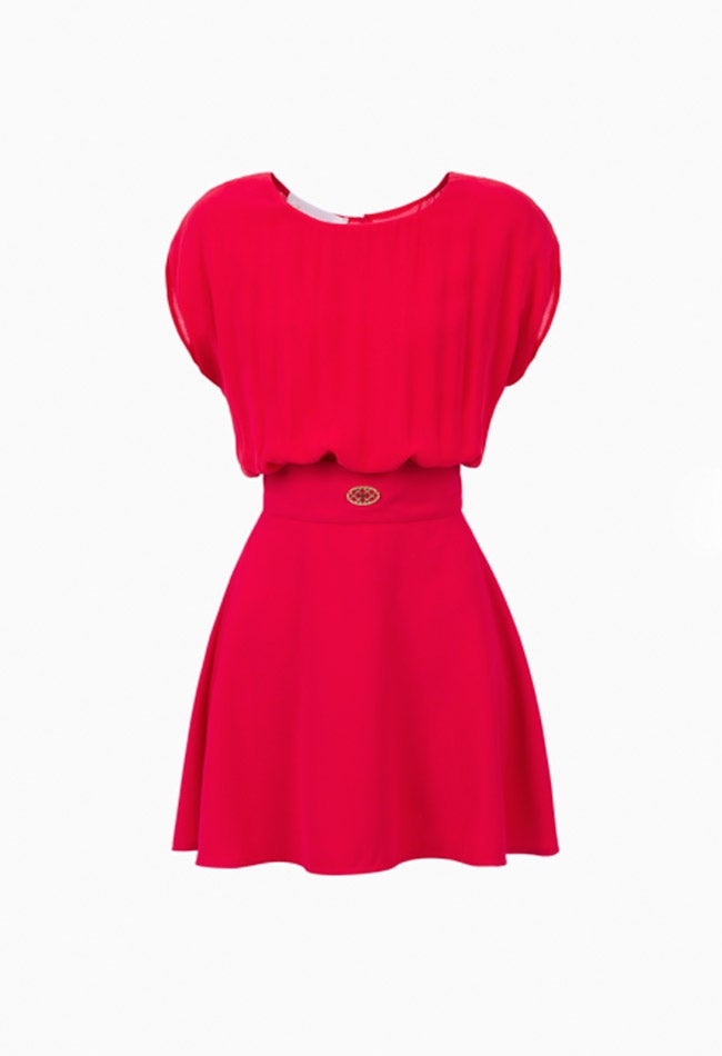 Image of FUXIA MINI DRESS
