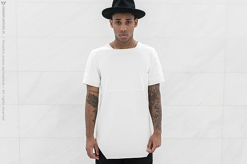 Image of Urban Flavours NYC SOHO Scuba T-Shirt White