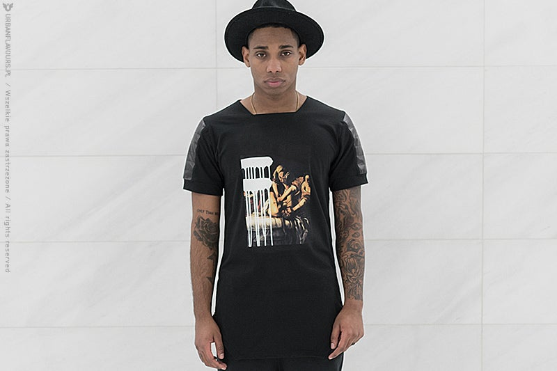 Image of Urban Flavours NYC SOHO Picture T-Shirt Black