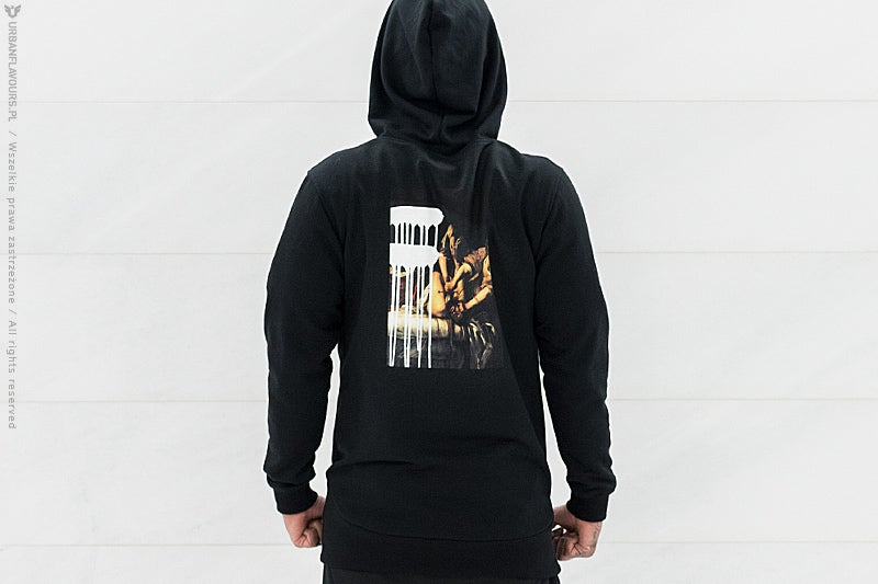Image of Urban Flavours NYC SOHO Picture Hoodie Black