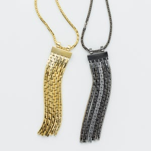 Image of WINNOW Sirius Fringe Necklace