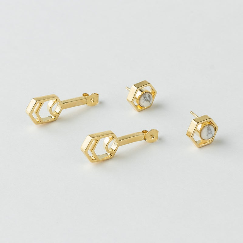 Image of WINNOW Procyon Stud Earring and Jacket