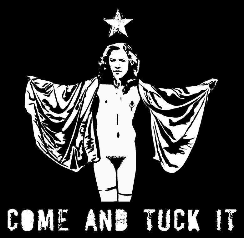 "Image of Silence of The Lambs ""Come and Tuck It!"" Shirt"