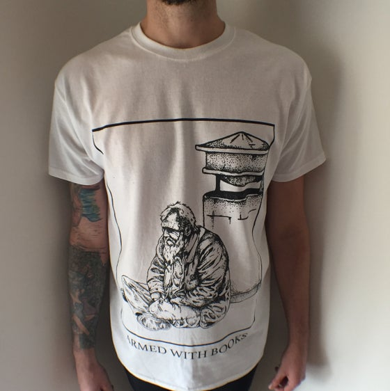 Image of Armed 8With Books - Old Man Tee (only medium size left)