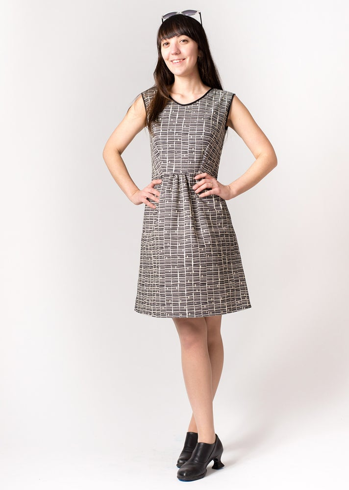 Image of ROXY DRESS: Triangle Print