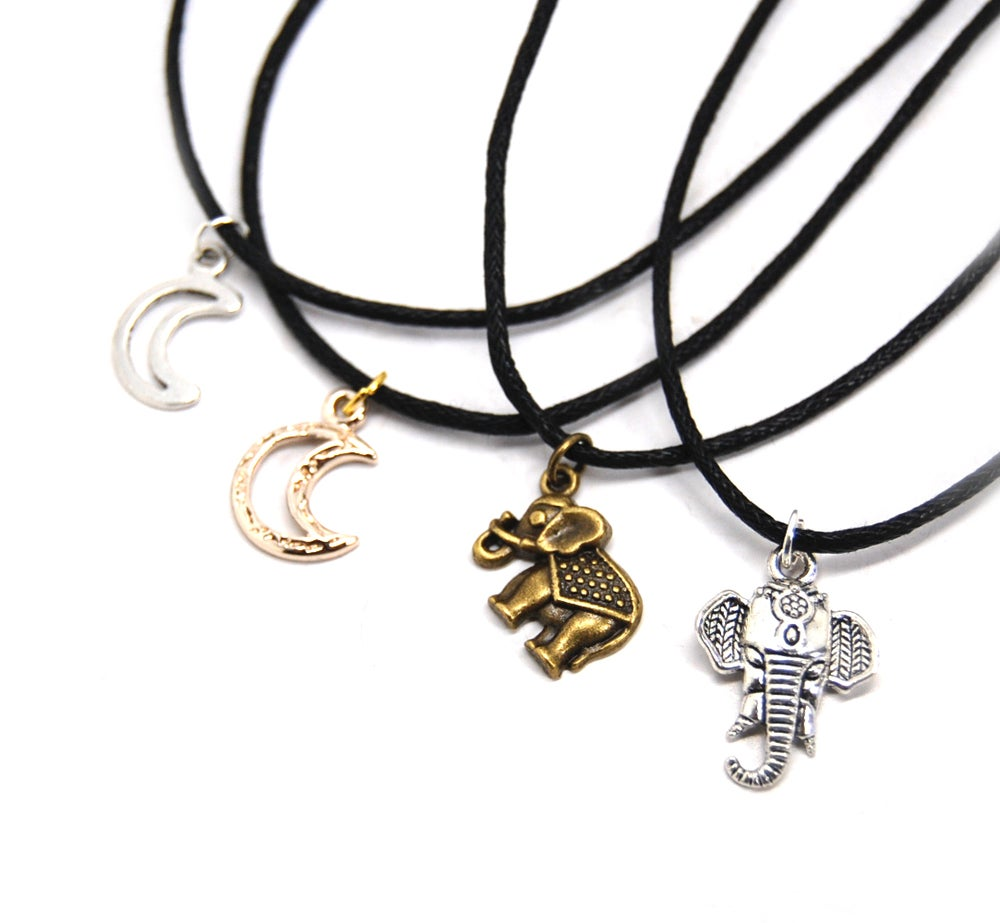 Image of Cord Charm Chokers