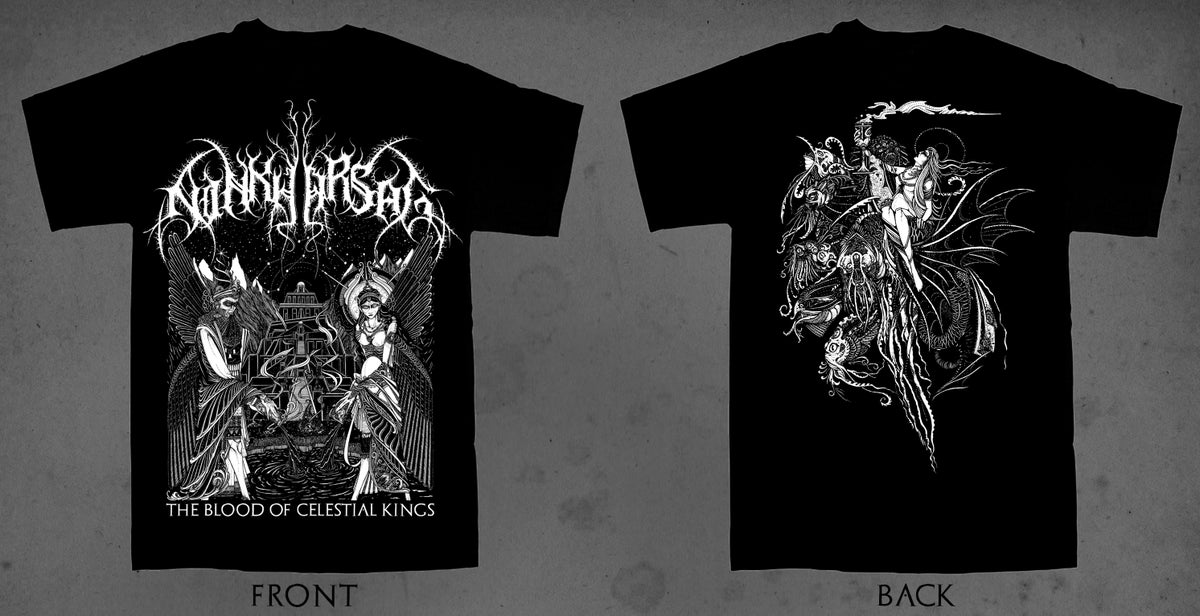 Image of Ninkharsag - The Blood Of Celestial Kings T-Shirt