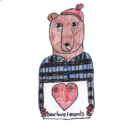 Image of Bear Love Records T-Shirt