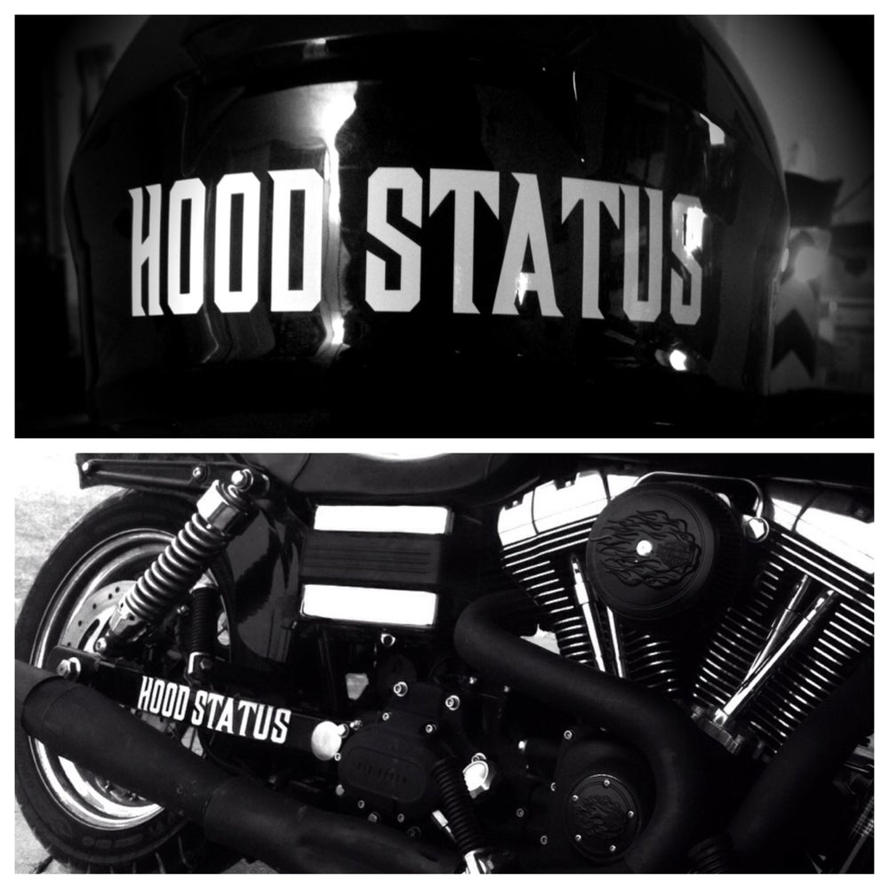 Image of Hood Status Decal