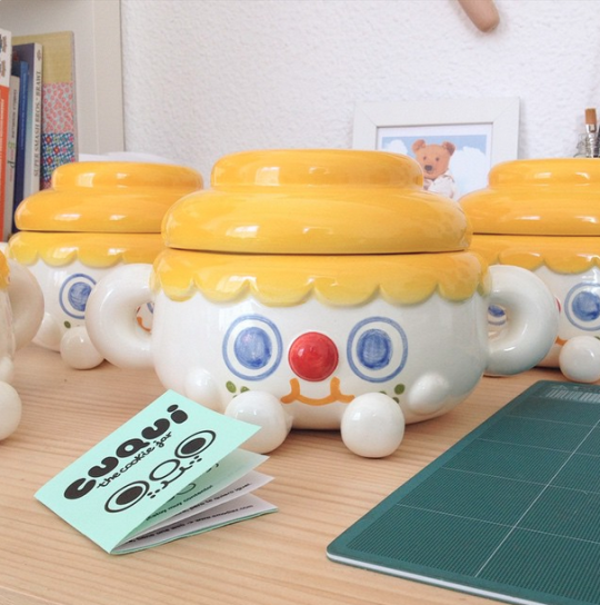 Image of Cuqui, The Cookie Jar.