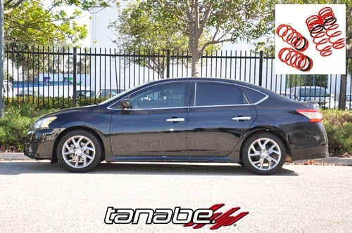 Image of (B17) Tanabe NF210 Lowering Springs Sentra (2013)
