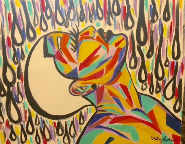 "Image of ""Rainbow in the Rain"" Prints"