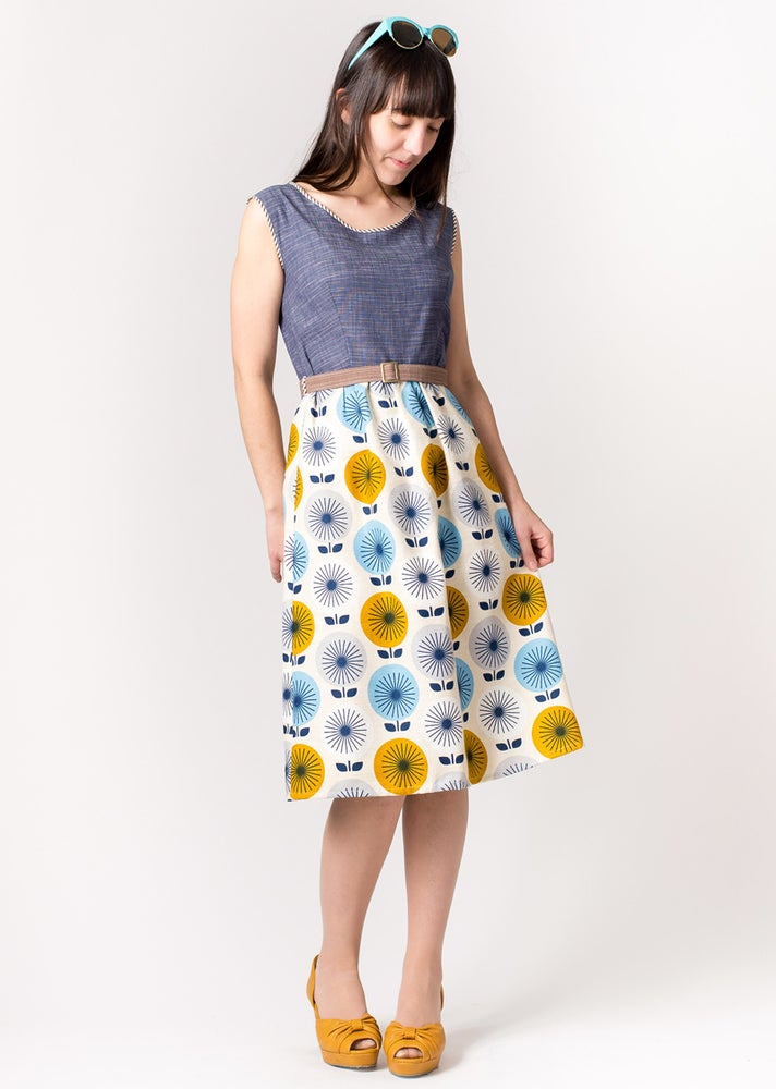 Image of ROXY MIDI DRESS: Mod Floral