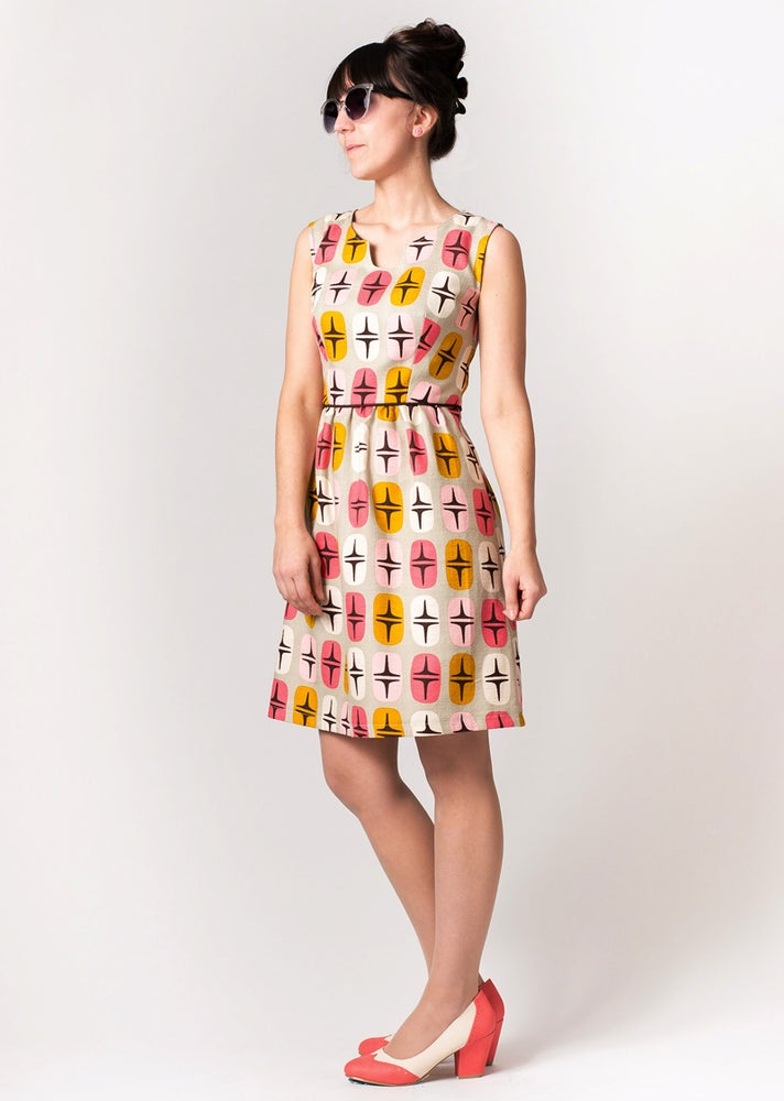 Image of ROXY DRESS: Atomic Print