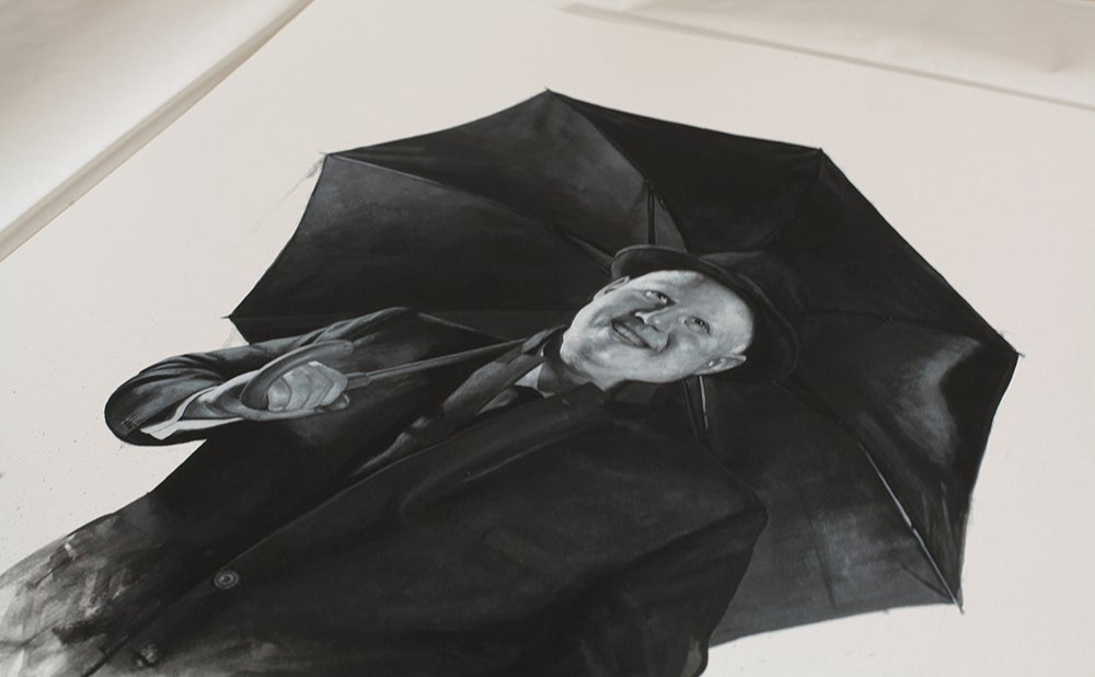 Matt Lucas as Don Lockwood from Singin' In The Rain // Limited Edition print