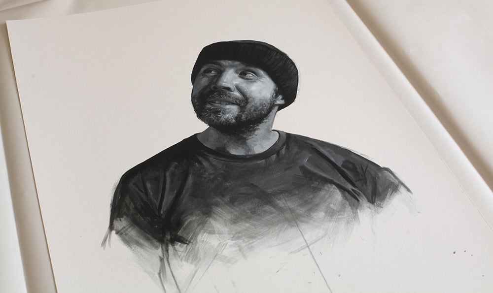 Paddy Considine as Randle McMurphy from One Flew Over The Cuckoo's Nest // Limited Edition print