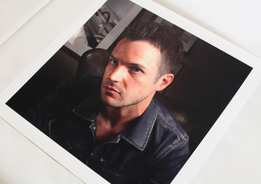 Brandon Flowers // Limited Edition print