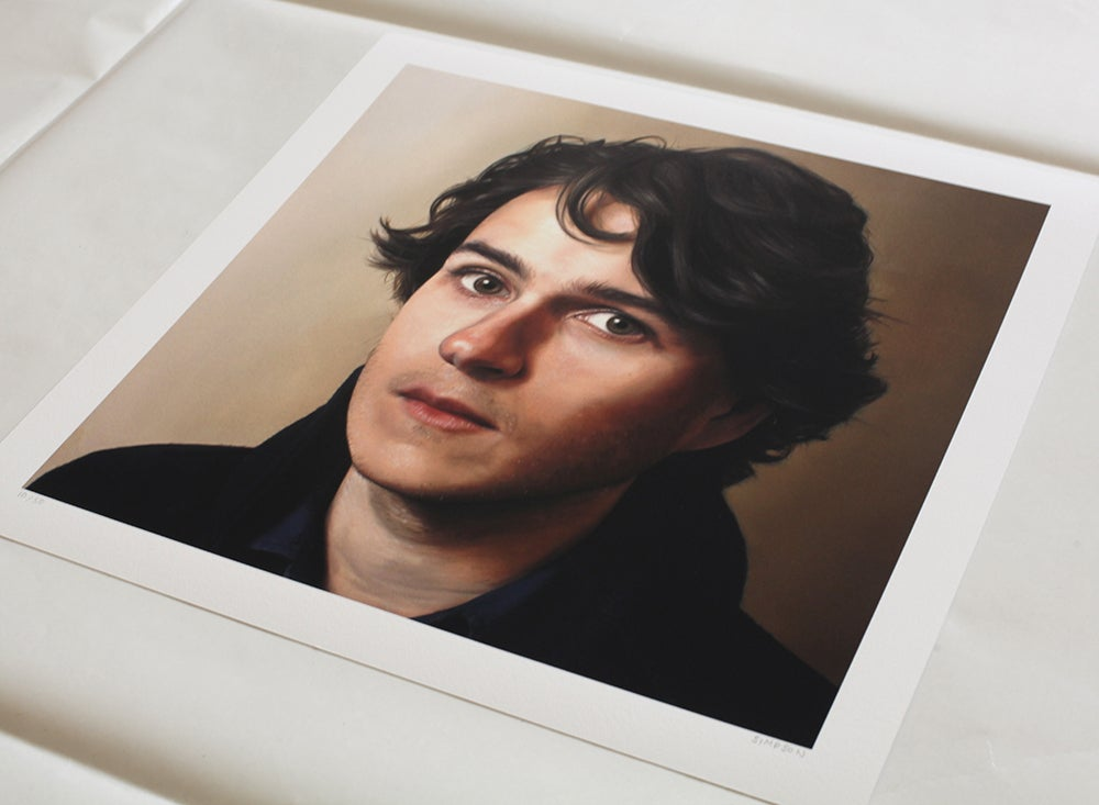 Image of Ezra Koenig (Vampire Weekend) // Limited Edition Print