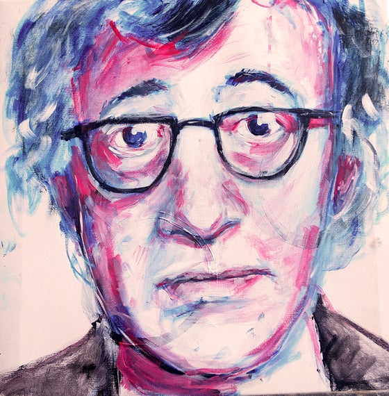 Image of Woody Allen Print