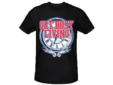 """Image of LIMITED EDITION - """"Timing Is Everything"""" Blk Tee"""