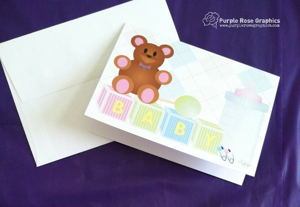 Image of Baby Card