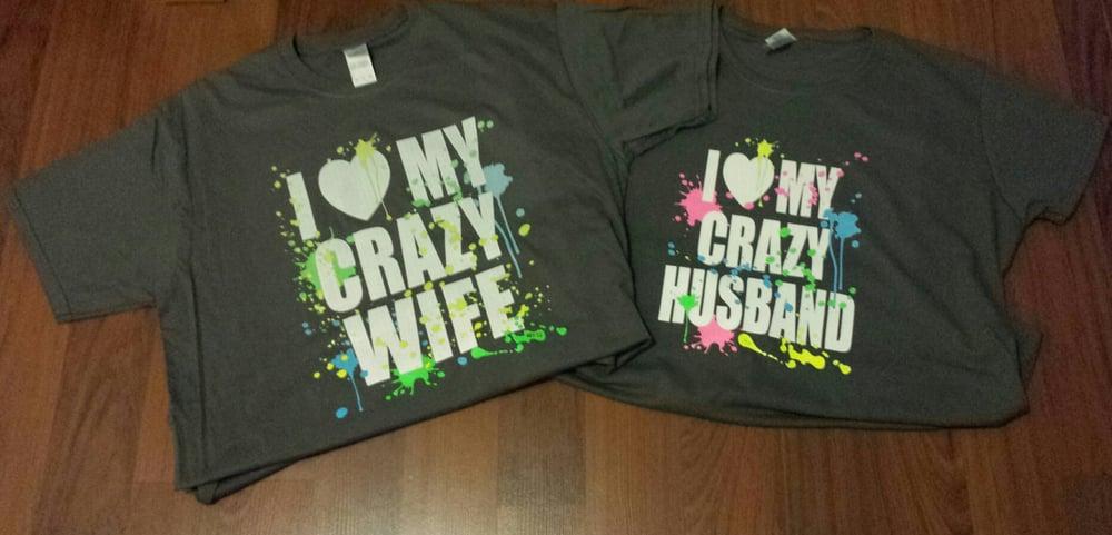I Love My Crazy Husband / Crazy Wife Combo
