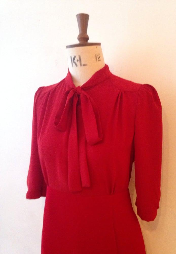 Image of Pussy bow Sofia dress