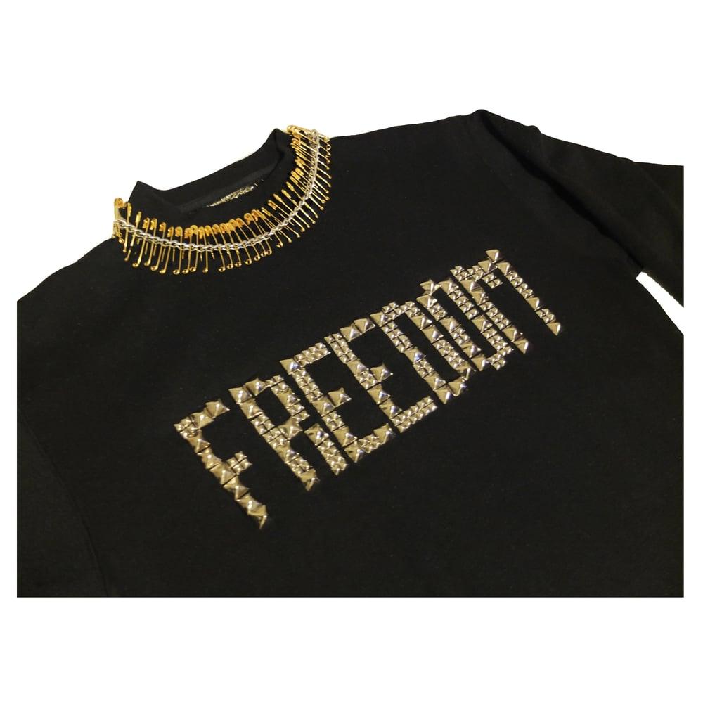 Image of FREEDOM STUD SWEATER