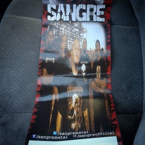 Image of Sangre posters (Free with shirt purchase)