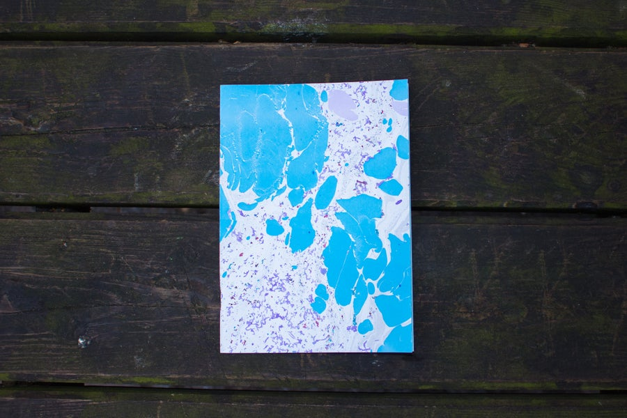 Image of Blue Notebook