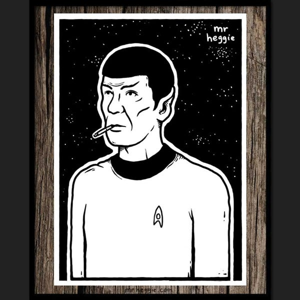 Image of The Spock Print