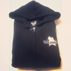 Image of Dub Police Black Zipped Hoodie - Limited