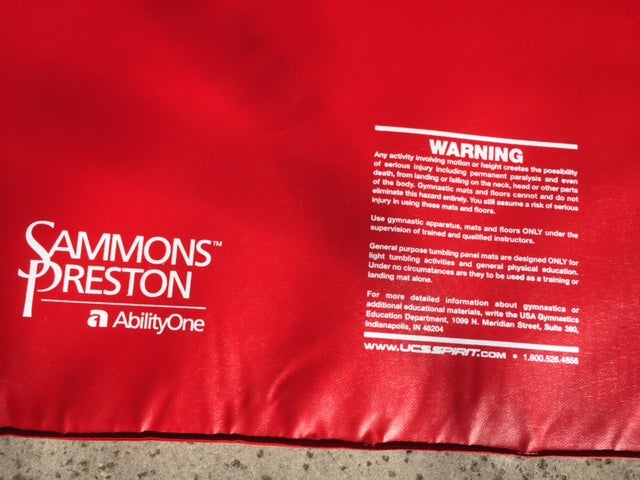 Image of Sammons Preston Universal Folding ,Exercise, Stretch,Rehab Mat (122 x 183cm) - Model 2211