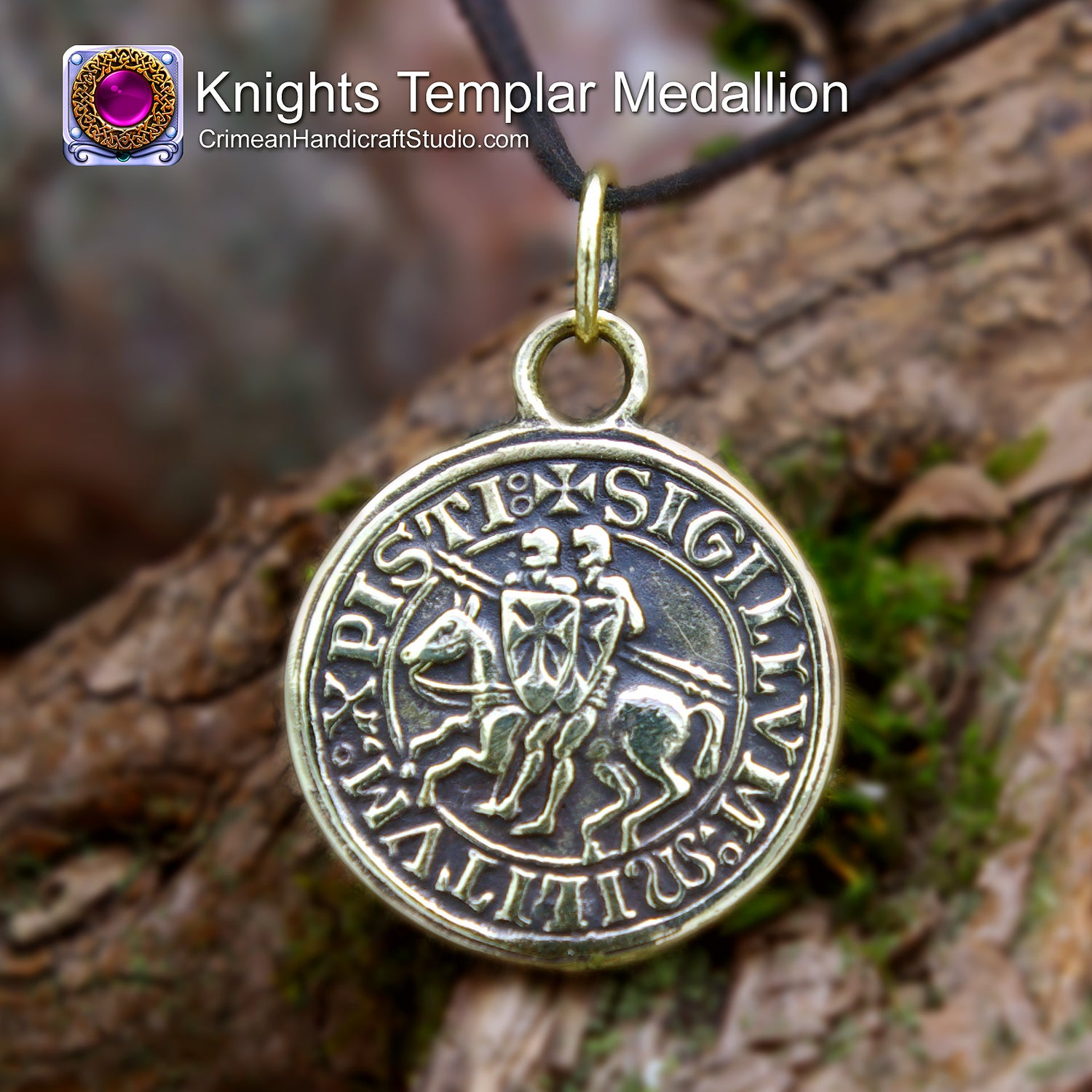 Image of Knights Templar Medallion