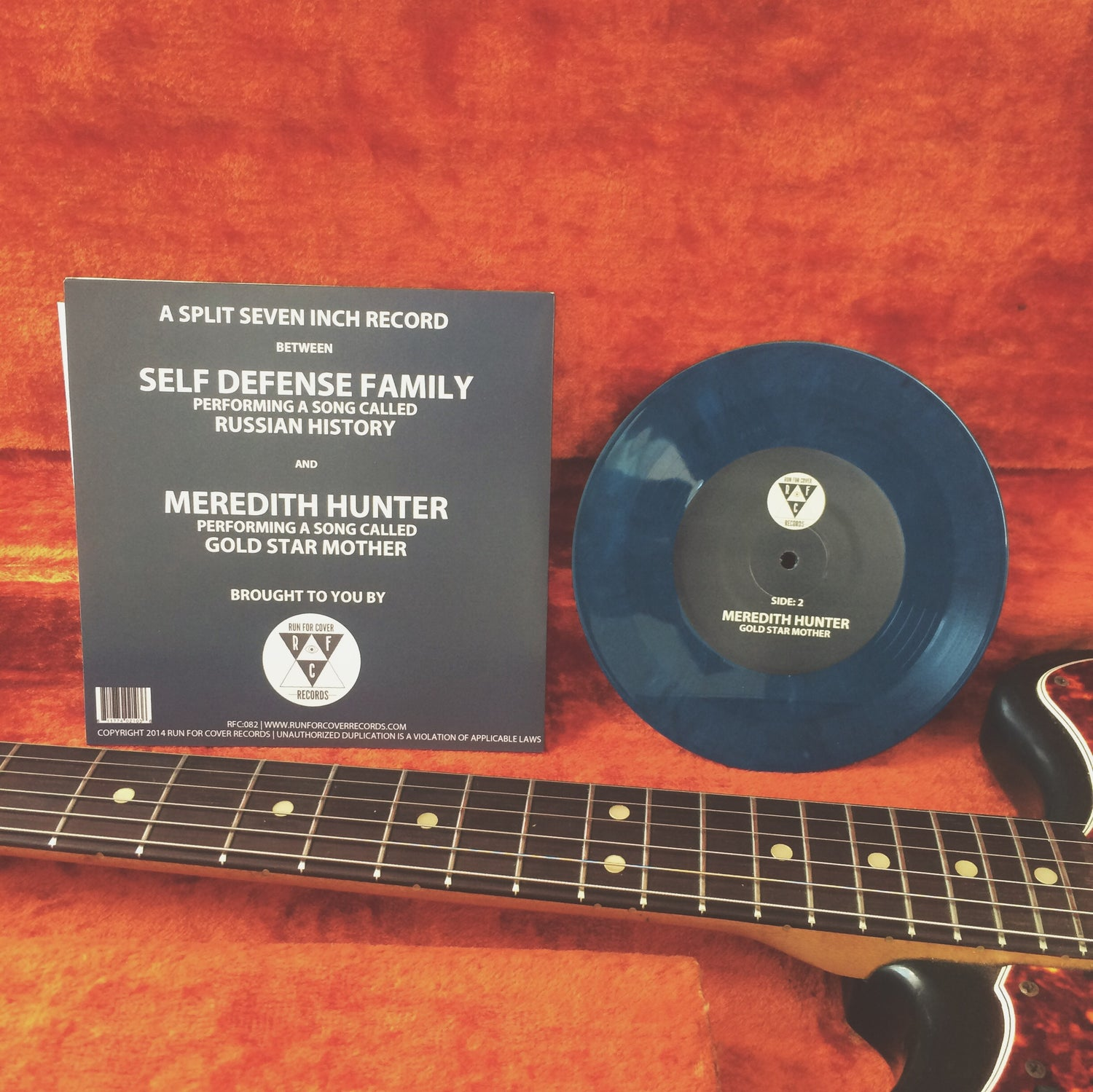 Image of Meredith Hunter Split 7""