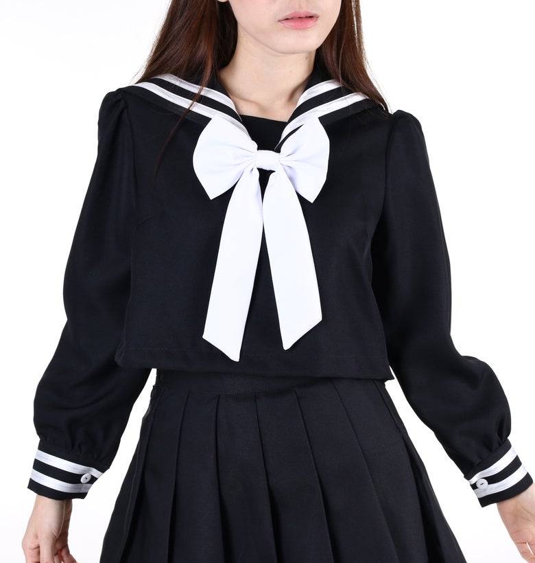 Image of Pre Order - Winter Sailor Moon Inspired Top in Black (TOP ONLY!)