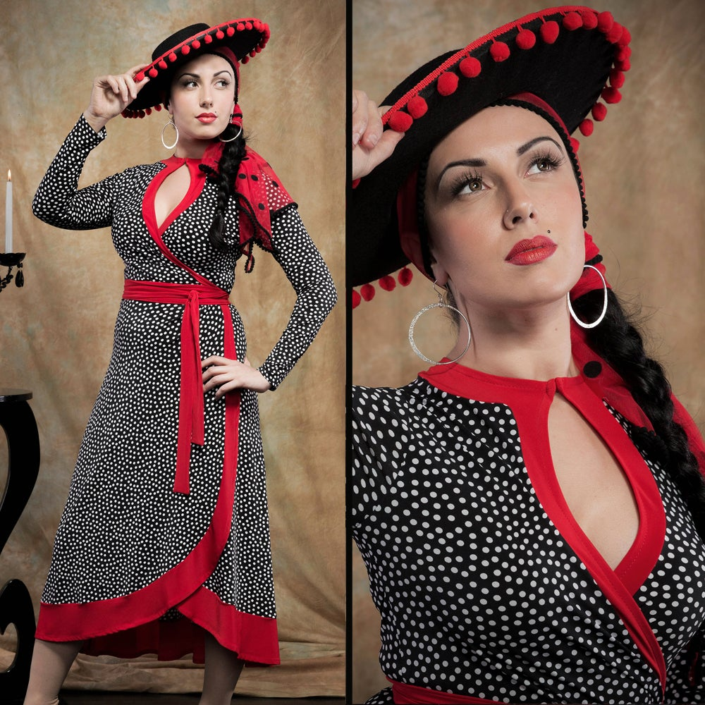 Image of LIBERTINE WRAP DRESS (other options available)