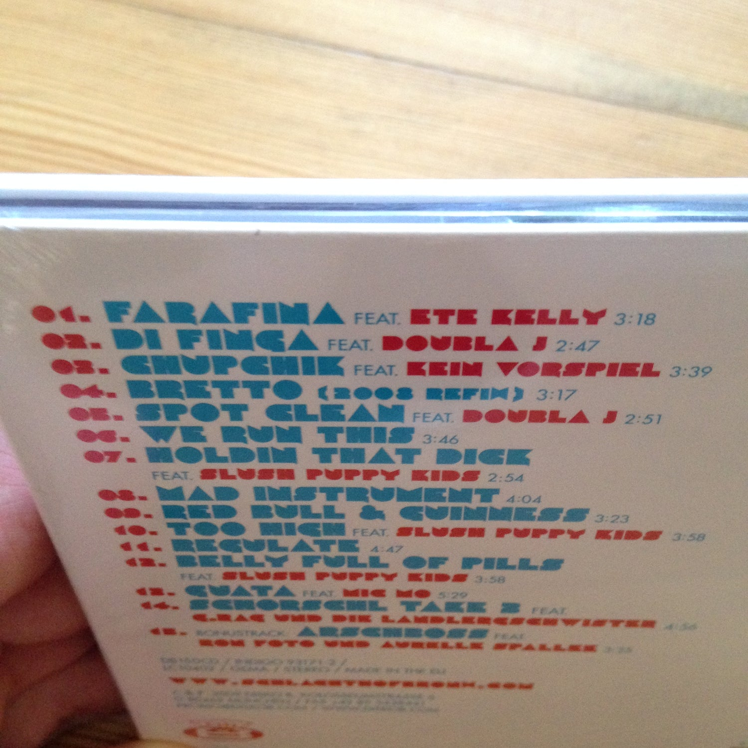 Image of Schlachthofbronx s/t (first) Album on CD