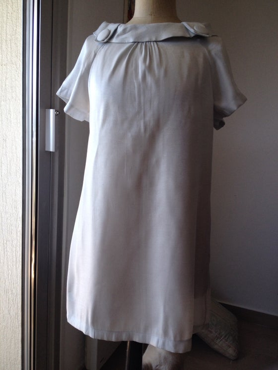 Image of ROBE 60' bleue taille 40