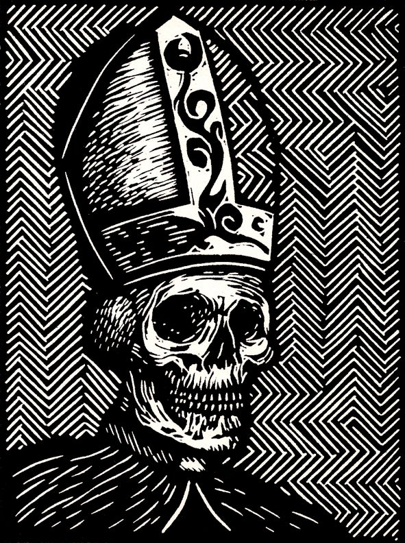 "Image of ""Pope"" (calaca)"