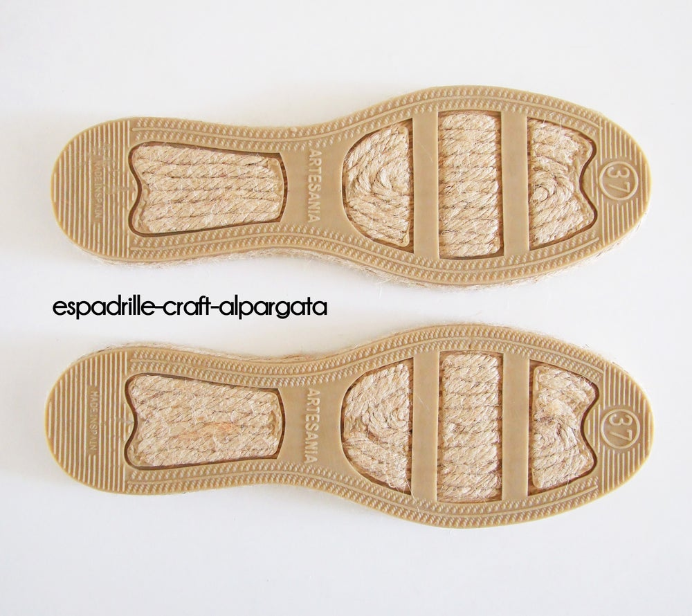 Image of espadrille soles - M1 - flat - unisex - EU sizes 34 to 46