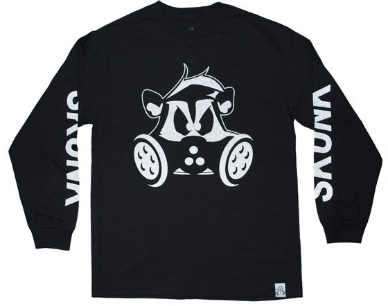 Image of 3M Reflective Long-sleeve Tee | BLACK