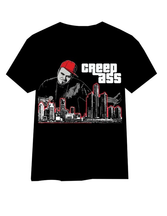 "Image of ""Grand Theft Creep Ass"" T-Shirt"