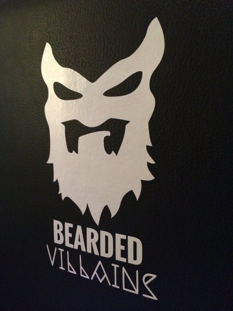 Image of Bearded Villain Window Sticker