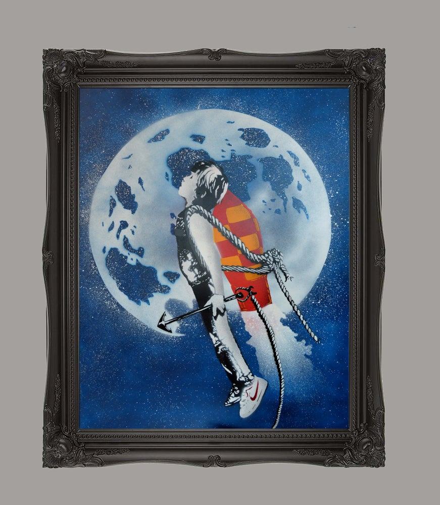 "Image of ""Shoot the Moon"" - Blue"